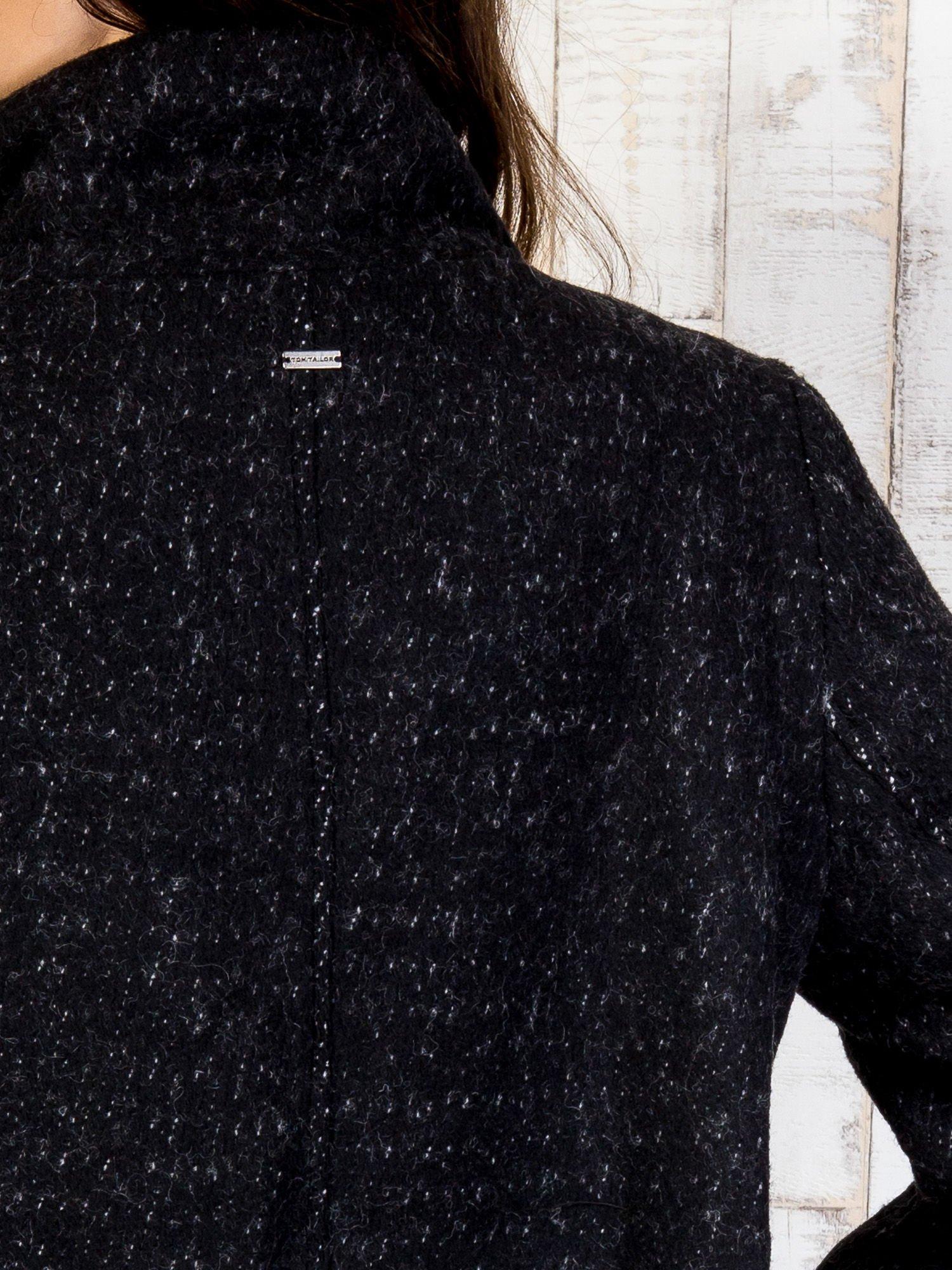 TOM TAILOR Czarny dwuczęściowy płaszcz z kurtką pikowaną                                  zdj.                                  20
