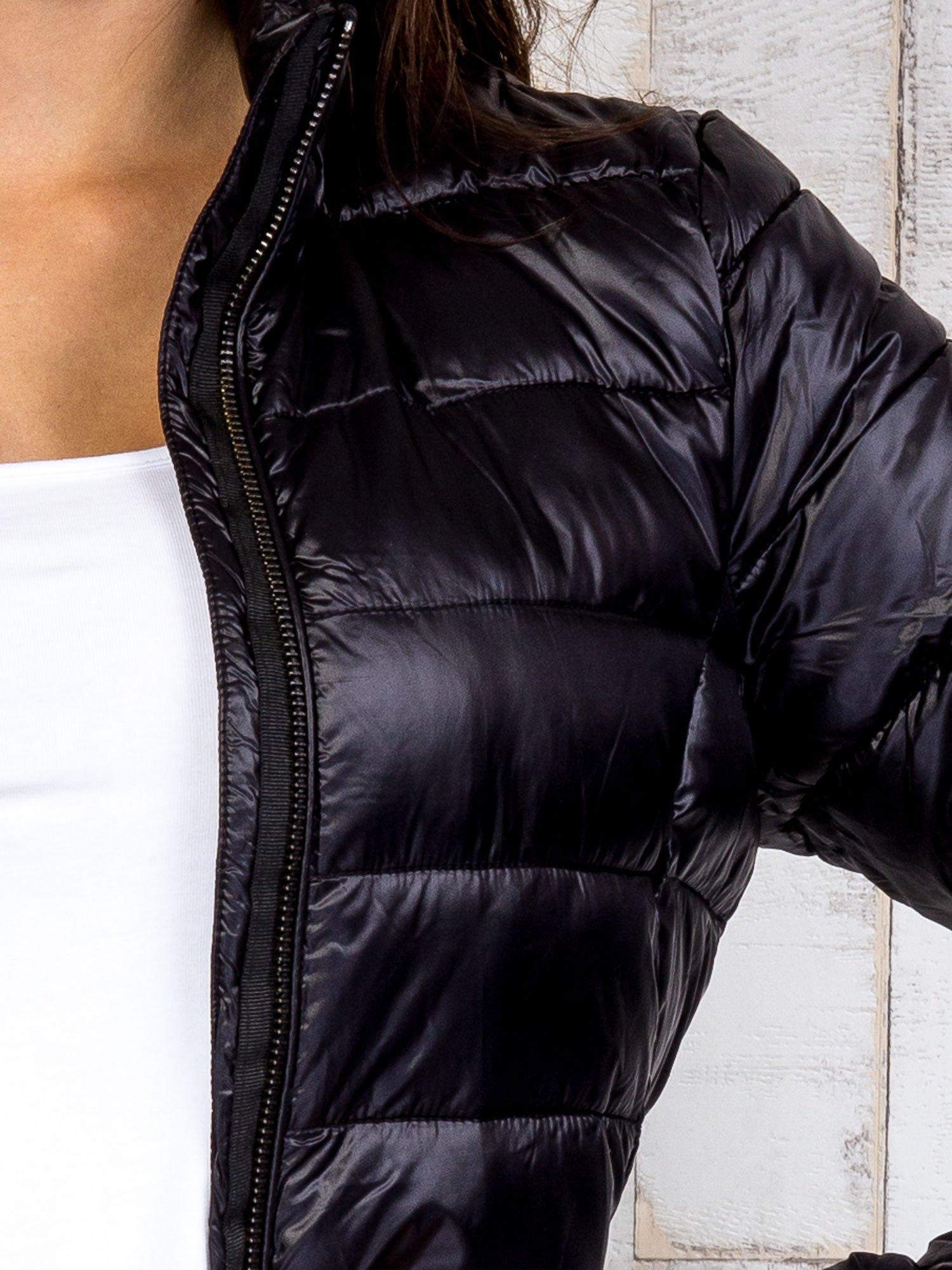 TOM TAILOR Czarny dwuczęściowy płaszcz z kurtką pikowaną                                  zdj.                                  13