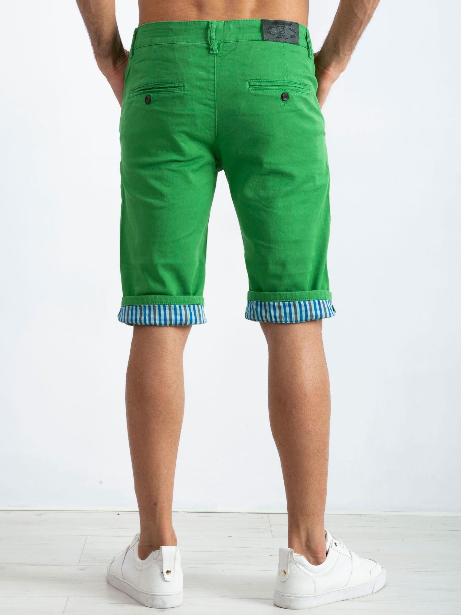 18cd7e7c Zielone spodenki męskie Austin - Mężczyźni Spodenki męskie - sklep ...