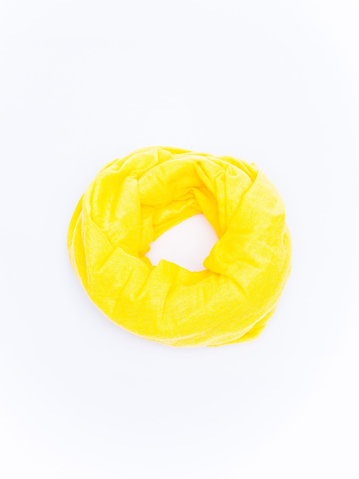 Żółty gładki komin                                  zdj.                                  2