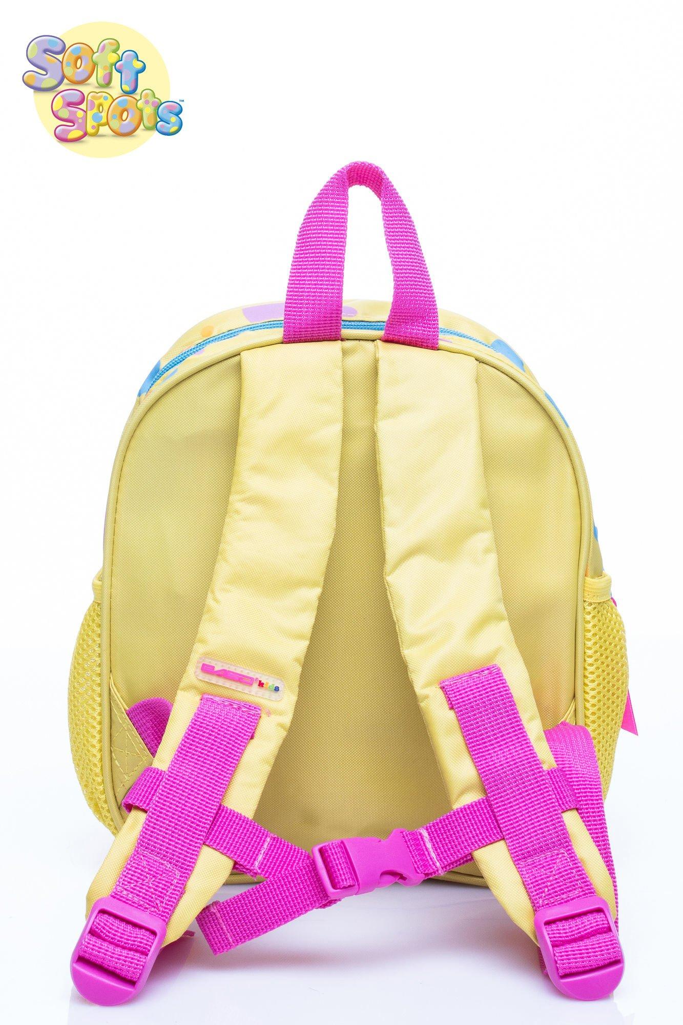 Żółty plecak na wycieczkę DISNEY Soft Spots                                  zdj.                                  4