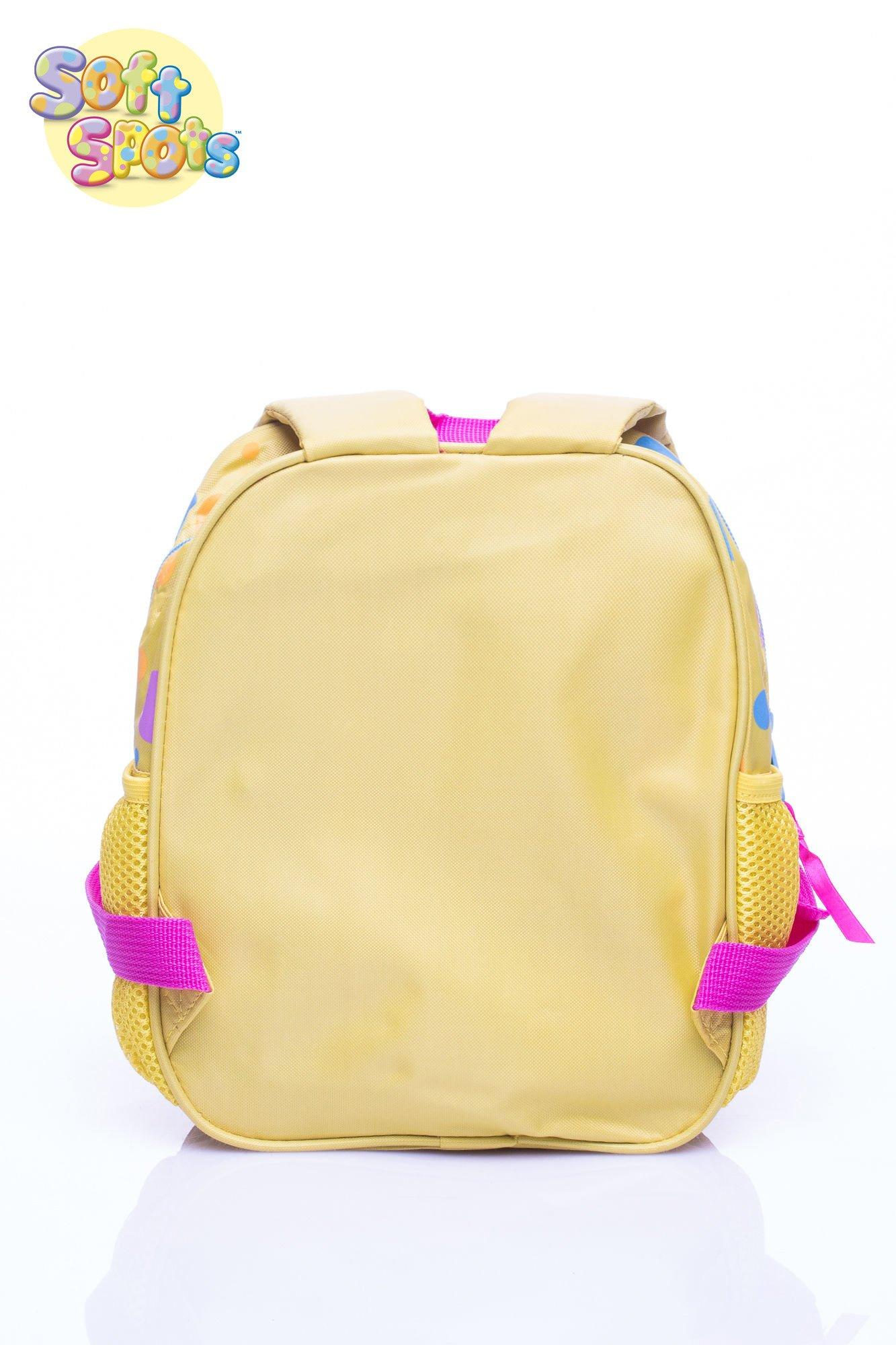 Żółty plecak na wycieczkę DISNEY Soft Spots                                  zdj.                                  5