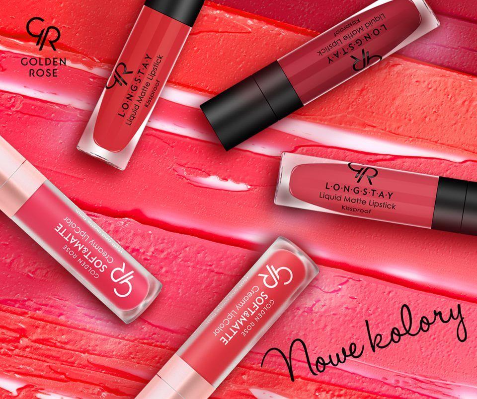 Golden Rose Matte Lipstick Colours Image Of Lipstick Imagerico