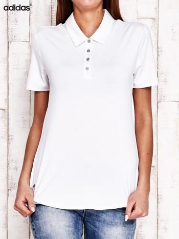 ADIDAS Biała koszulka polo                                   zdj.                                  1