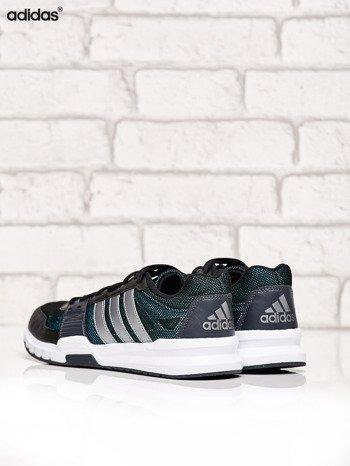 ADIDAS czarne buty męskie Essential Star 2 sportowe z siateczką                              zdj.                              4