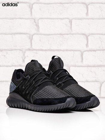 ADIDAS czarne buty męskie Tubular Radial z plecioną membraną                              zdj.                              2