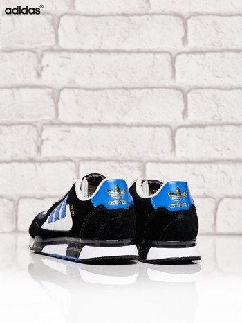 ADIDAS czarne buty męskie ZX 850 z niebieskimi modułami                              zdj.                              4