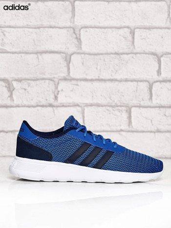 ADIDAS niebieskie buty męskie sportowe Lite Racer w graficzny wzór                              zdj.                              1