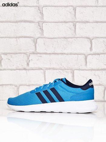 ADIDAS niebieskie buty męskie sportowe Lite Racer z wyższą podeszwą                              zdj.                              5