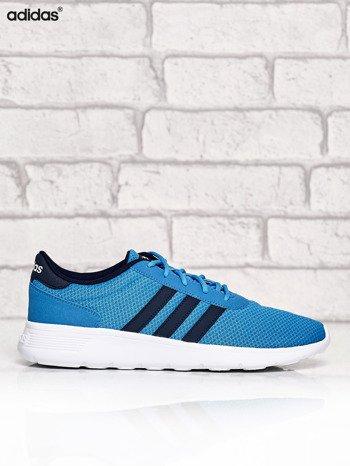 ADIDAS niebieskie buty męskie sportowe Lite Racer z wyższą podeszwą                              zdj.                              1