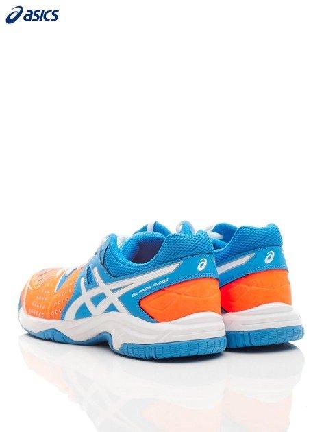 ASICS Niebieskie buty sportowe GEL PADEL PRO 3 GS                              zdj.                              4