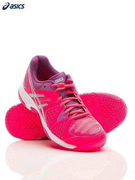 ASICS Różowe buty sportowe GEL PADEL PRO 3 GS                              zdj.                              3
