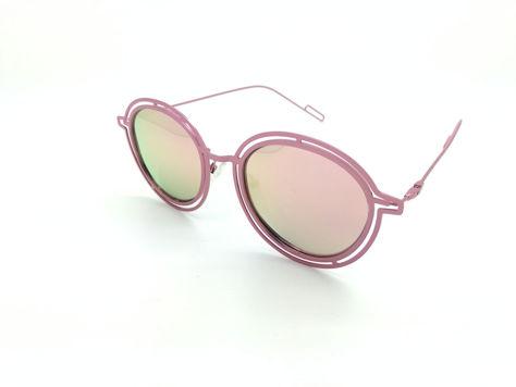 ASPEZO Okulary przeciwsłoneczne POLARYZACYJNE damskie różowe MAJORCA. Etui skórzane, etui miękkie oraz ściereczka z mikrofibry w zestawie                              zdj.                              2