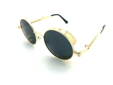 ASPEZO Okulary przeciwsłoneczne damskie POLARYZACYJNE złoto-czarne AMSTERDAM Etui skórzane, etui miękkie oraz ściereczka z mikrofibry w zestawie                              zdj.                              1