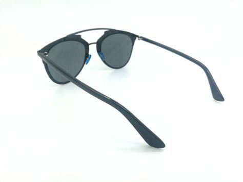 ASPEZO Okulary przeciwsłoneczne damskie czarne MONTREAL. Etui skórzane, etui miękkie oraz ściereczka z mikrofibry w zestawie                              zdj.                              3