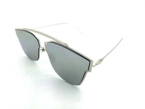 ASPEZO Okulary przeciwsłoneczne damskie srebrno-złote HAWAII. Etui skórzane, etui miękkie oraz ściereczka z mikrofibry w zestawie                              zdj.                              2