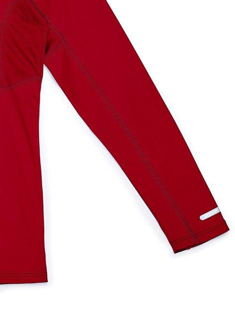 AZZURI Czerwona sportowa bluzka chłopięca                                  zdj.                                  4