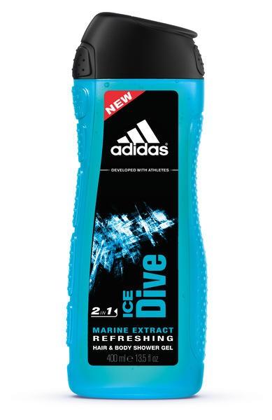 "Adidas Ice Dive Żel pod prysznic  400ml"""