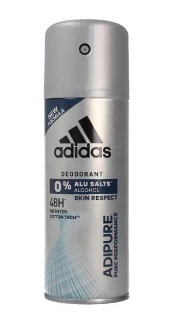 "Adidas Men Adipure Dezodorant 48H spray 150ml"""
