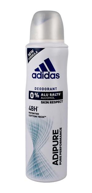 "Adidas for Woman Adipure Dezodorant spray 48H 150ml"""