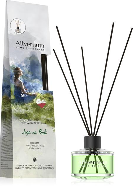 """Allvernum Home & Essences Dyfuzor z patyczkami zapachowymi Joga na Bali 1op."""""""