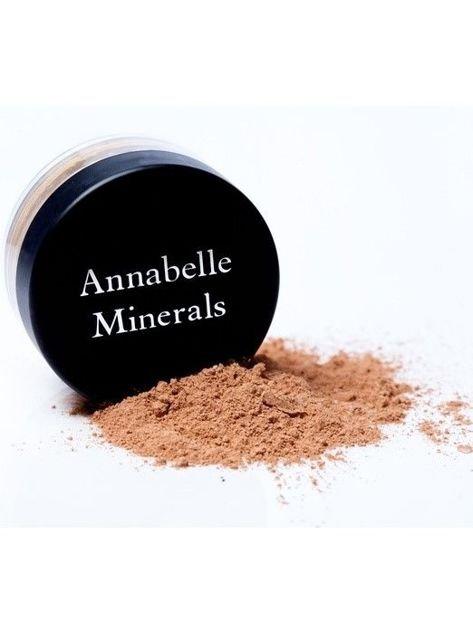 Annabelle Minerals Podkład mineralny rozświetlający Sunny Light 4g