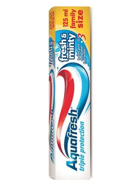 Aquafresh Pasta do zębów Triple Protection Fresh & Minty 125 ml                              zdj.                              1