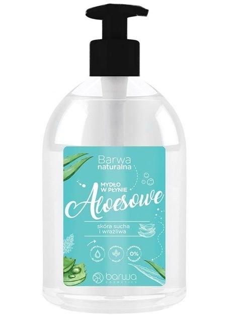 BARWA Naturalna Mydło w płynie Aloesowe 500 ml