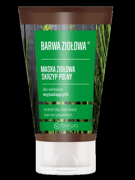 BARWA Ziołowa Maska do włosów Skrzyp Polny - włosy wypadające 120 ml
