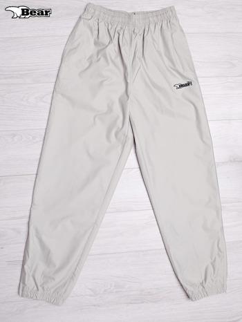 BEAR USA Beżowe spodnie dresowe męskie                                  zdj.                                  1