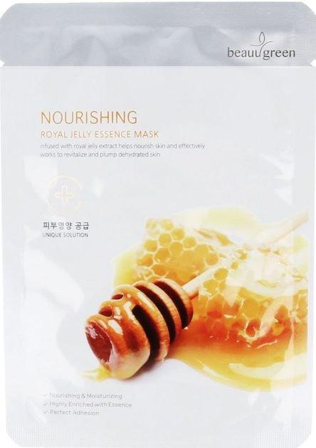 BEAUUGREEN Koreańska Maska odżywcza z mleczkiem pszczelim 23 g                              zdj.                              1