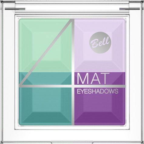 BELL 4 Mat Eyeshadows cień 04                                  zdj.                                  1