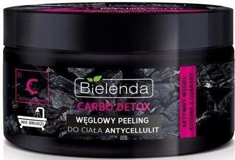 BIELENDA Carbo Detox Węglowy peeling solny do ciała ANTYCELLULIT 250 g                              zdj.                              1