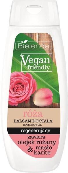BIELENDA VEGAN FRIENDLY Balsam do ciała regenerujący róża 400 ml                              zdj.                              1