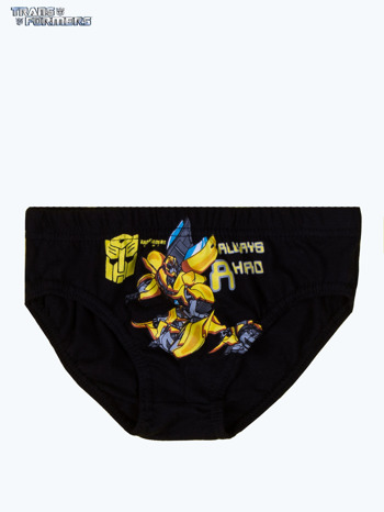 Bawełniane chłopięce majtki TRANSFORMERS 3 szt