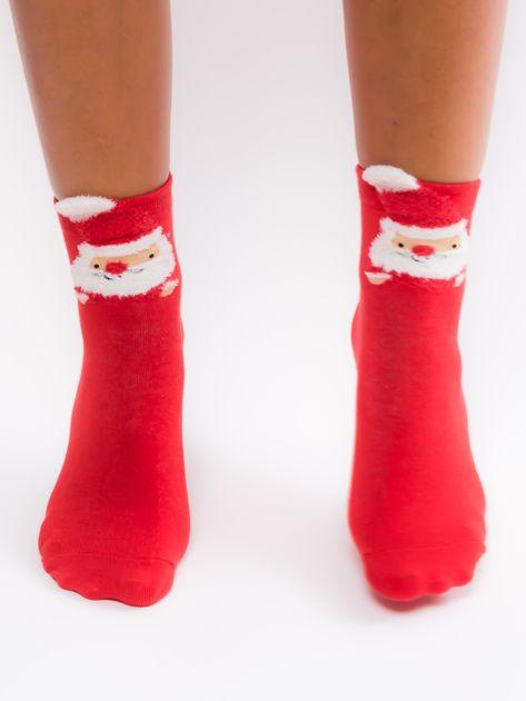 Bawełniane skarpety z motywem świątecznym                              zdj.                              3
