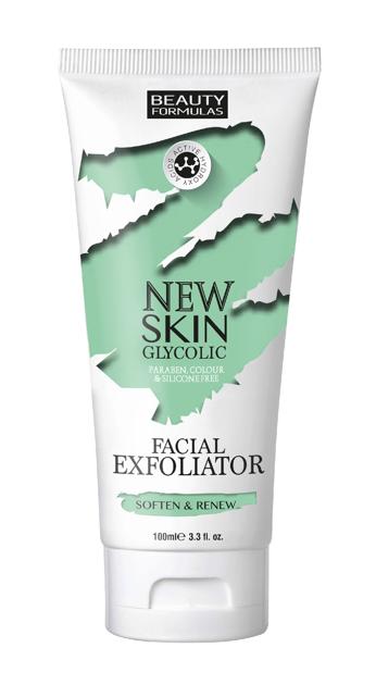"""Beauty Formulas New Skin Glycolic Peeling do twarzy z kwasem glikolowym  100ml"""""""