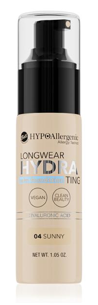 """Bell Hypoallergenic Podkład nawilżający Longwear Hydrating Balm Foundation nr 04  30g"""""""