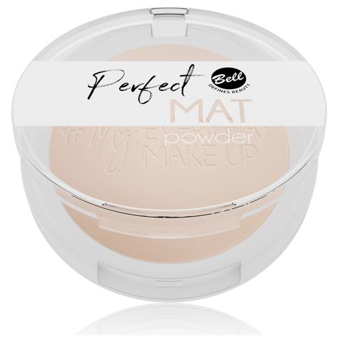 "Bell #My Everyday Make-Up Puder w kamieniu matujący Perfect Mat nr 03 Peach Beige 9g"""