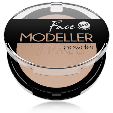 "Bell Puder modelujący owal twarzy Face Modeller nr 01 Coffee Time 10g"""