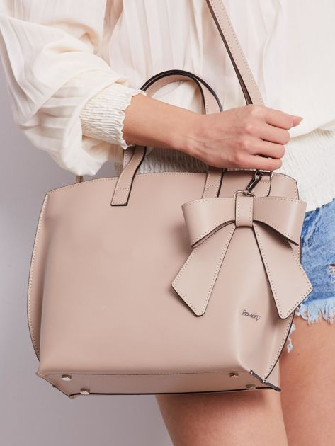 Beżowa elegancka torebka