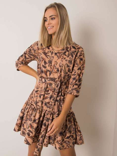 Beżowa sukienka Monna