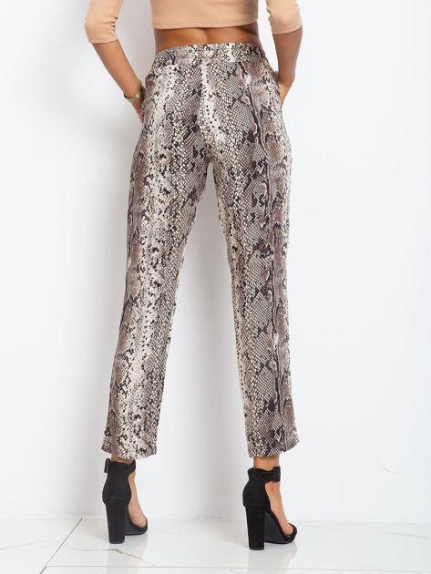 Beżowe spodnie Dream                              zdj.                              2