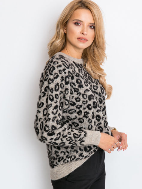 Beżowy sweter Corsica                              zdj.                              3