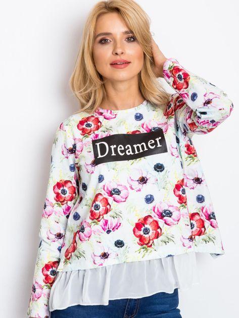 Biała bluza Dreamer                              zdj.                              1