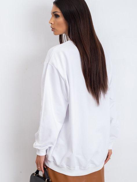 Biała bluza Twist                              zdj.                              2