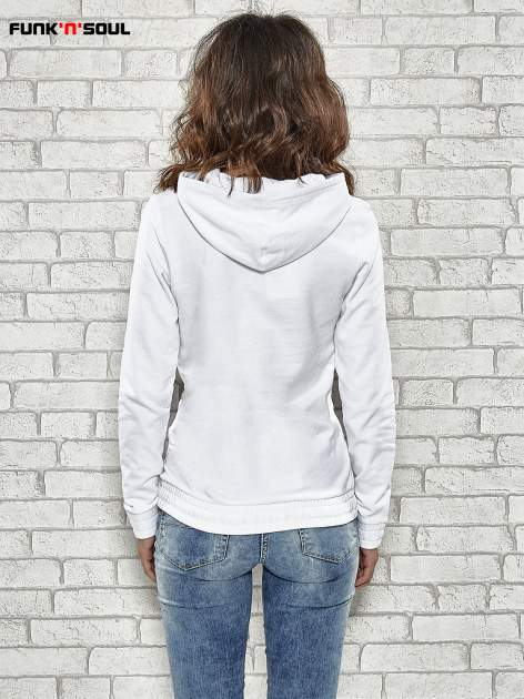 Biała bluza z kapturem Funk n Soul                                  zdj.                                  4