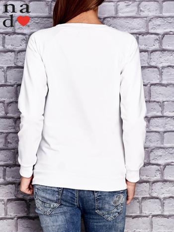 Biała bluza z napisem PONIEDZIAŁEK POWINIEN BYĆ TYLKO DLA CHĘTNYCH                                  zdj.                                  4