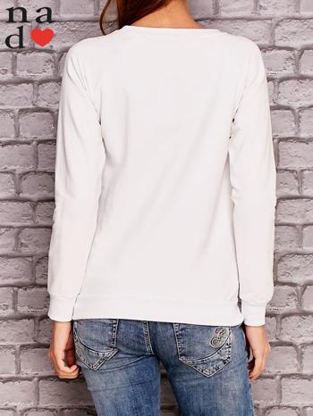 Biała bluza z napisem ZŁOŚNICA                                  zdj.                                  4