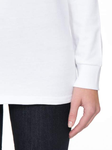 Biała bluza z narukiem AIN'T LAURENT WITHOUT YVES                                  zdj.                                  6